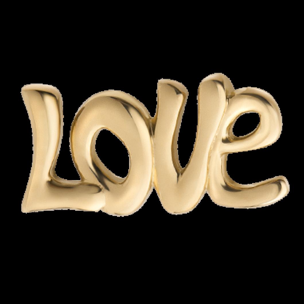 Браслет на ленте с шармиком «Любовь»