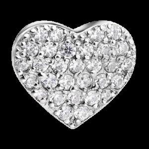 Шармик «Сердце» с цирконием