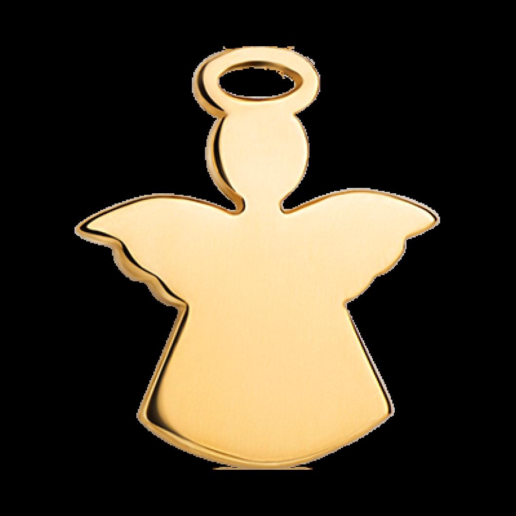 Браслет на ленте с шармиком «Ангелочек»