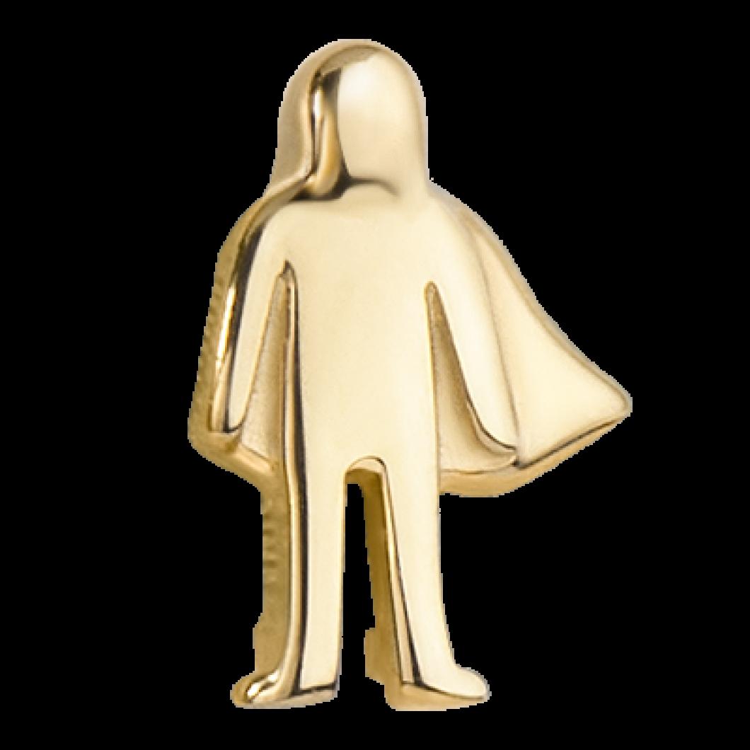 Браслет на ленте с шармиком «Папа-супергерой»