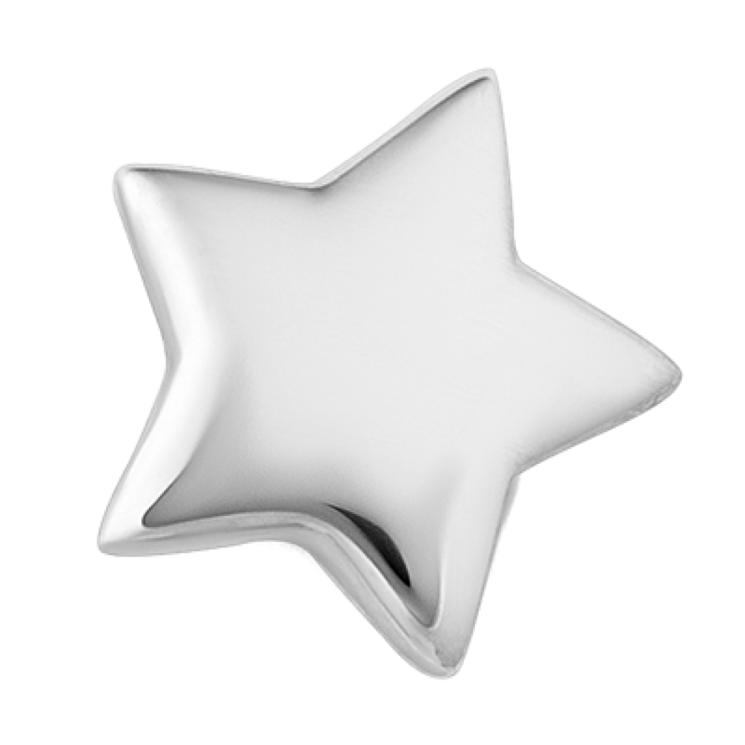 Браслет на ленте с шармиком «Звездочка»