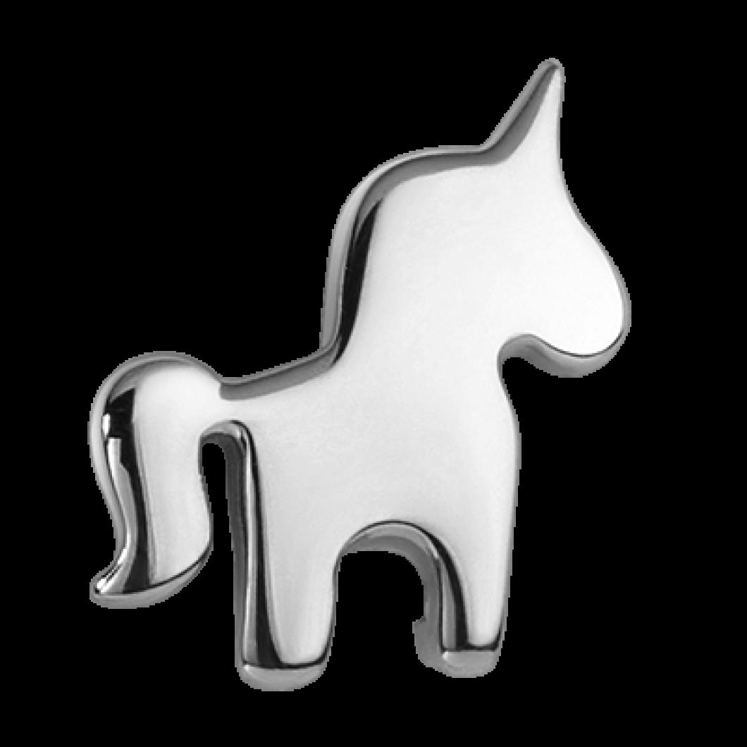 Браслет на ленте с шармиком «Единорог»