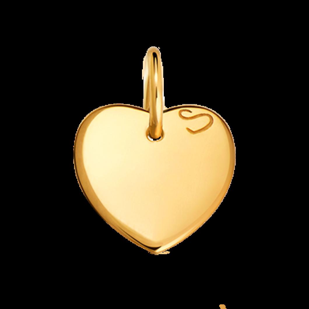 Браслет «Ліана» з підвіскою «маленьке серце»