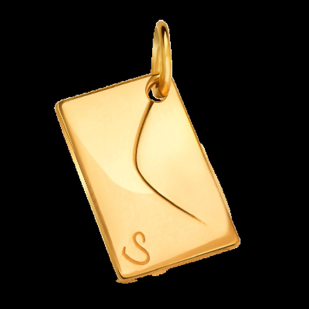 Подвеска «Конвертик» серебро 925