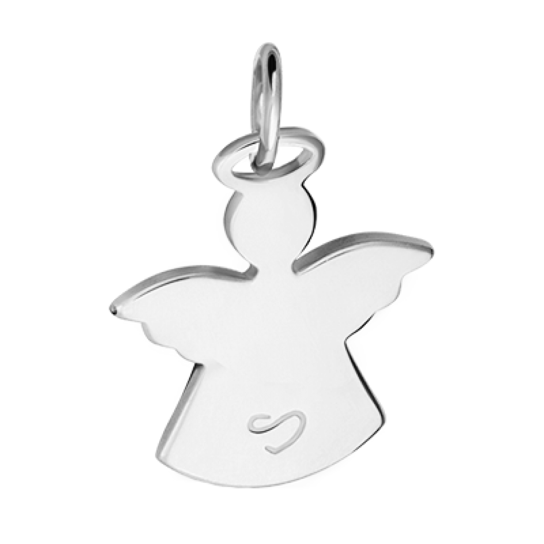 Браслет на ленте с подвеской «Ангелочек» мини