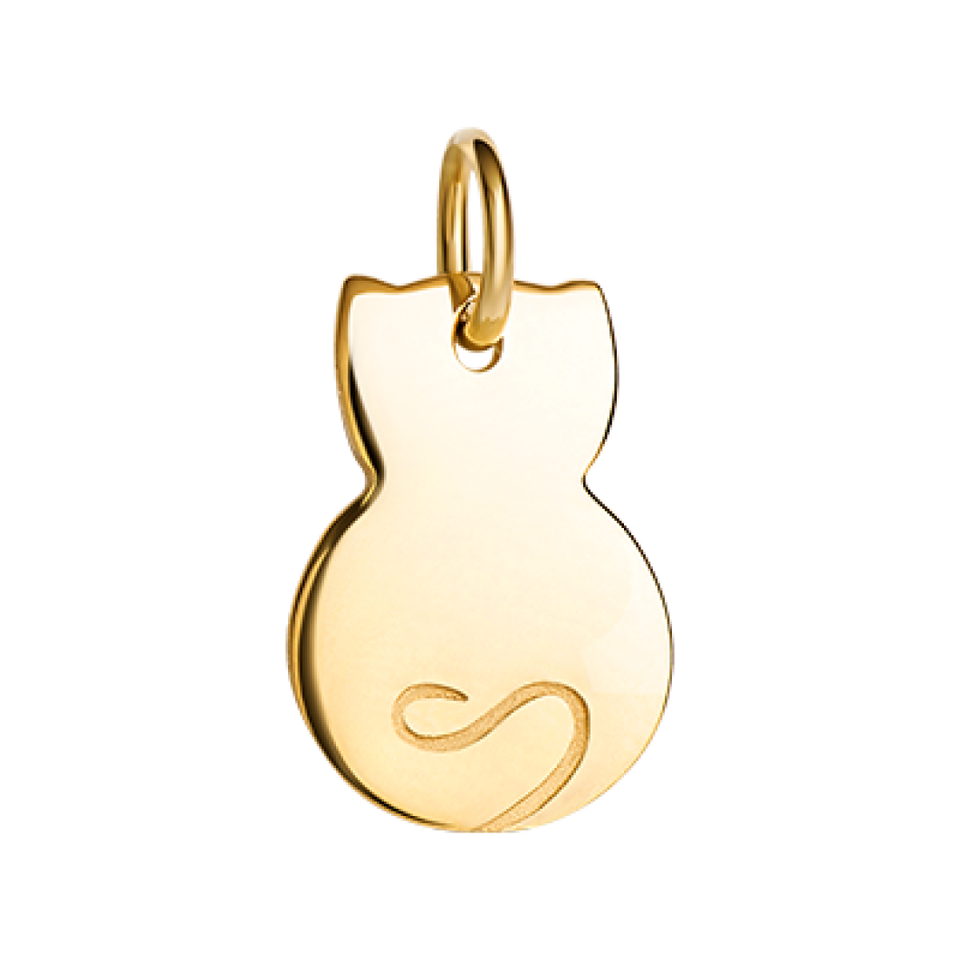 Подвеска «Котик мини» серебро 925