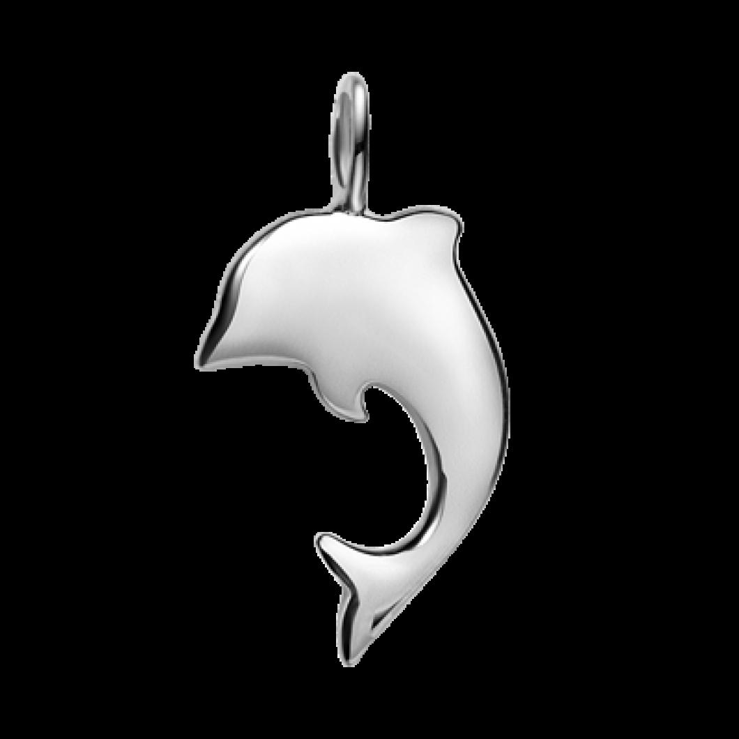 Подвеска «Дельфин» серебро 925