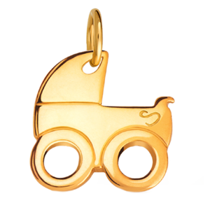 Подвеска «Детская коляска»