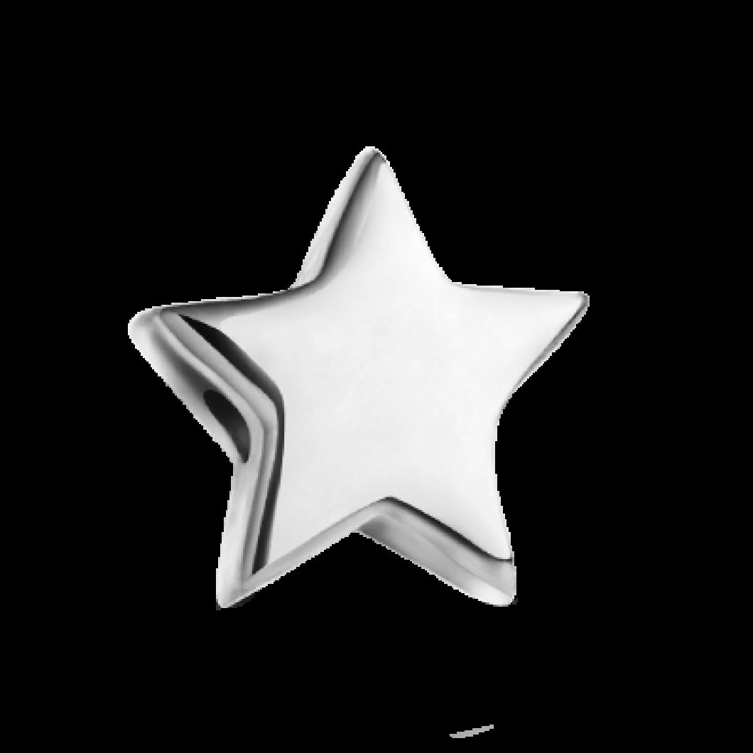 Браслет с шармиками «Девочка», «Мальчик» и «Звездочка»