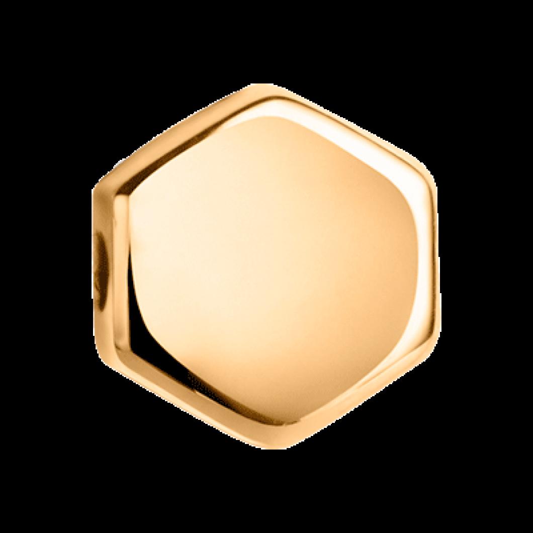 Набор колец из бусин c шармиком «Сота»