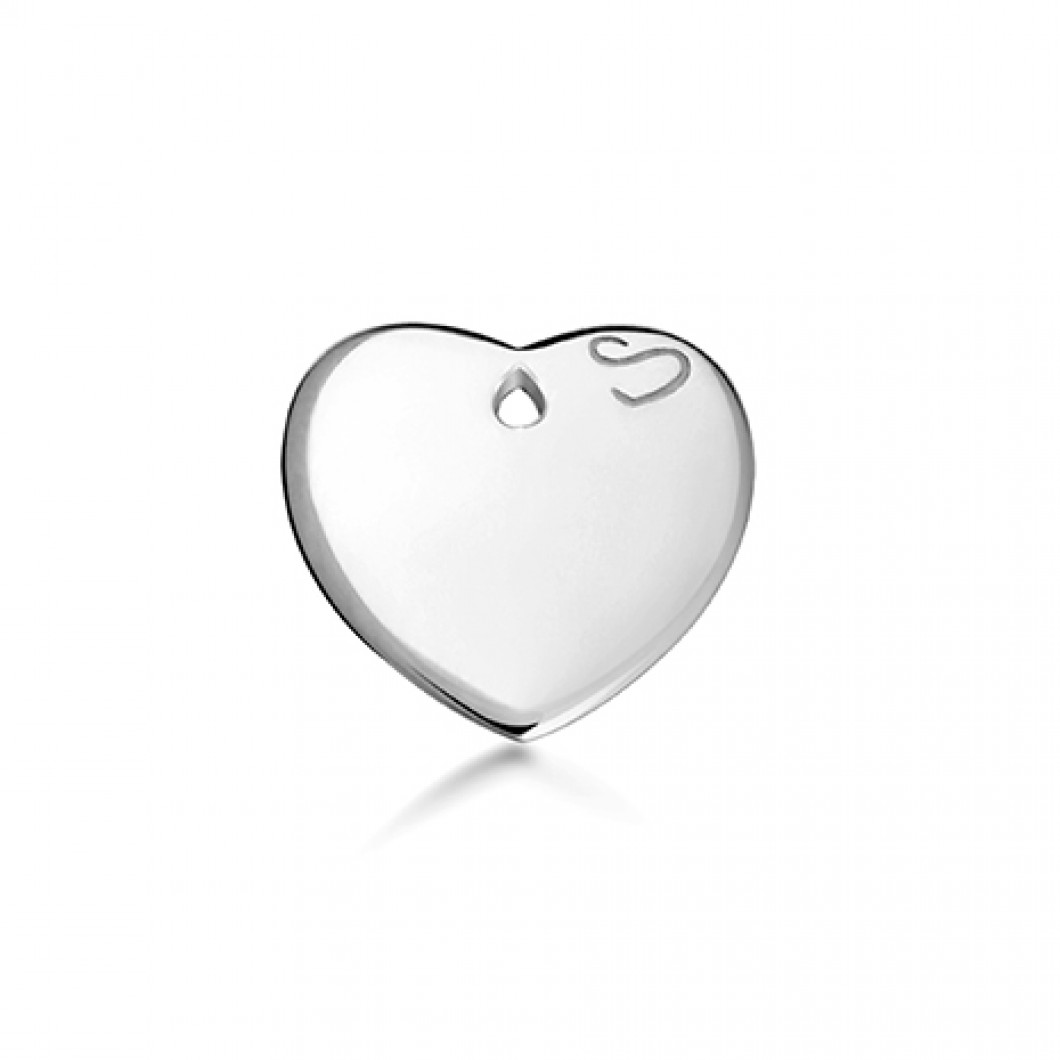 Браслет «Мальчик» с петелькой и «Сердце мини»