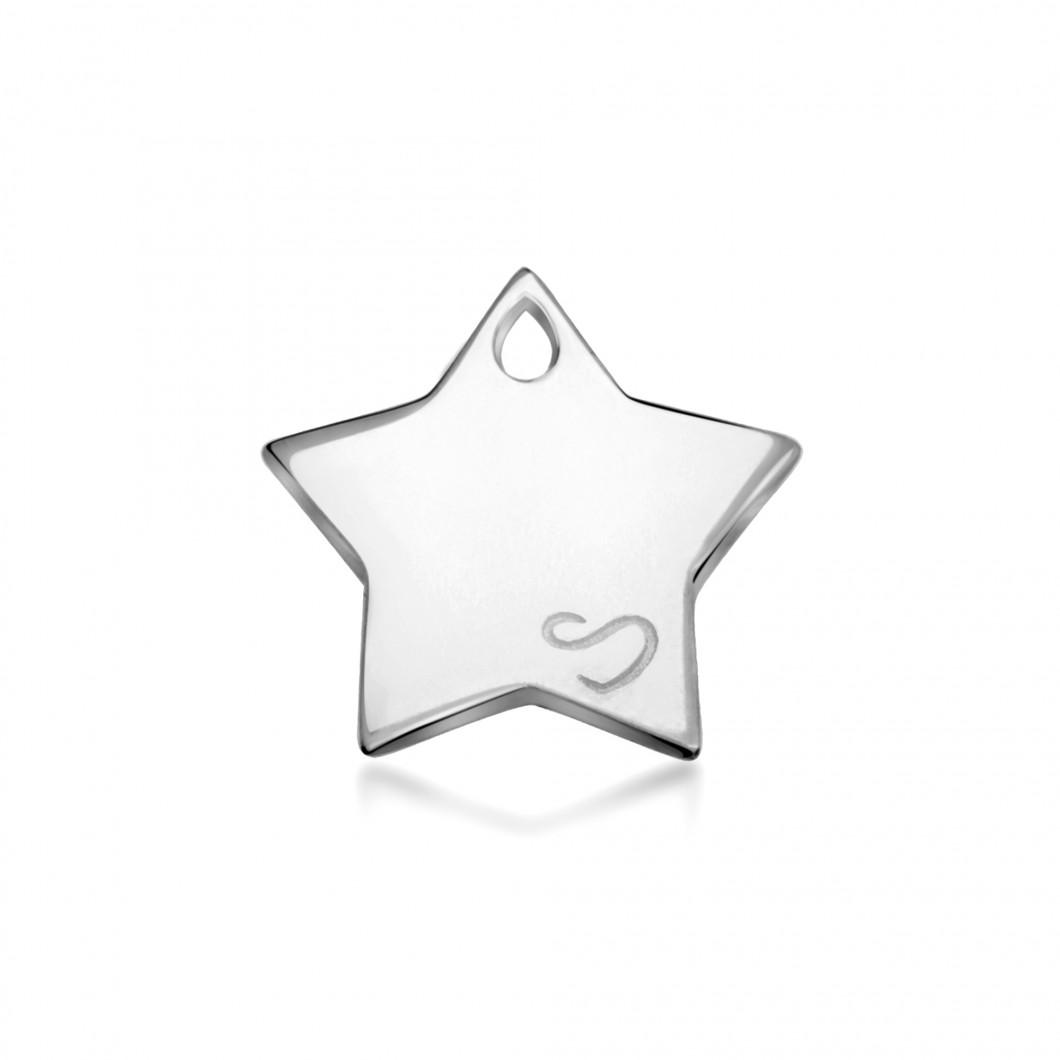 Браслет-кафф «Meridian» с подвеской «Звезда»