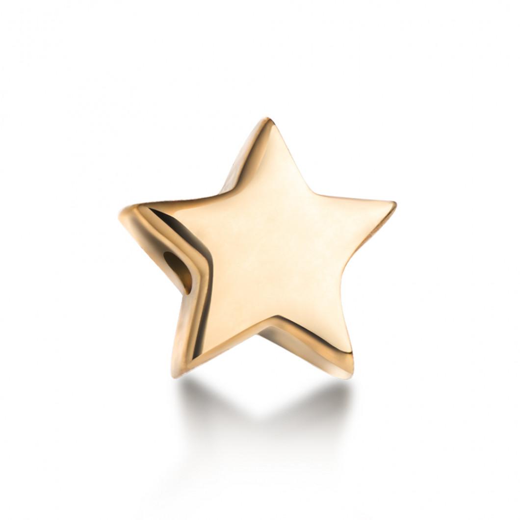 Браслет с шармиками «Мальчик и звездочка»