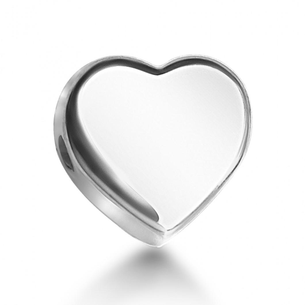 Браслет с шармиками «Мальчик и сердце»