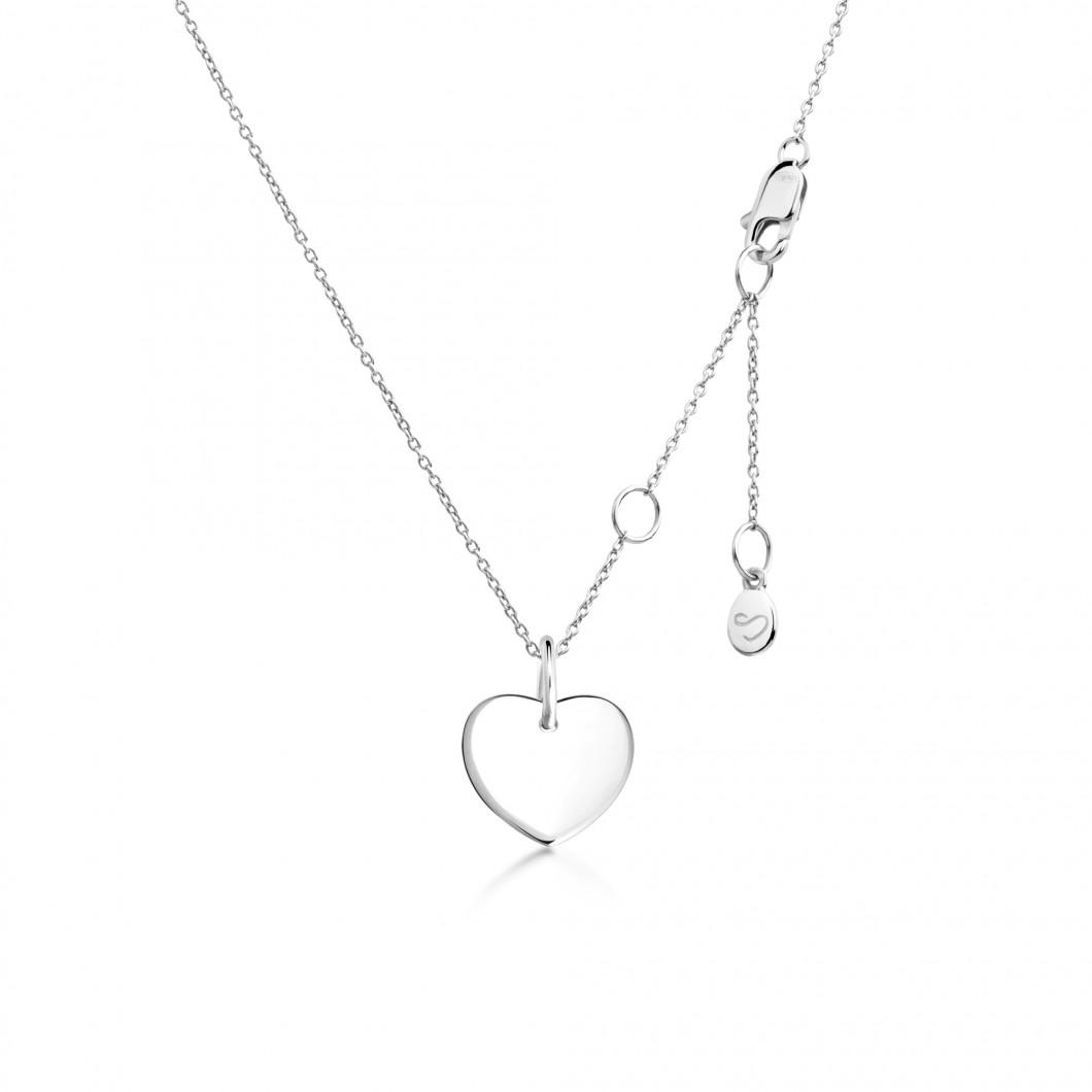 Подвеска «Маленькое сердце» серебро 925