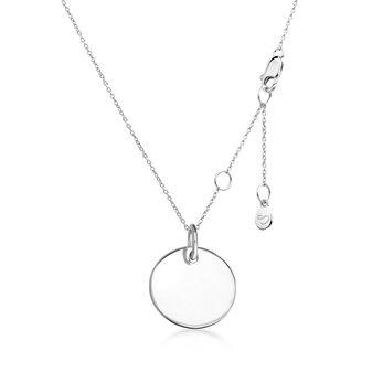 Подвеска «Круг» серебро 925