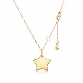 Подвеска «Звезда» серебро 925