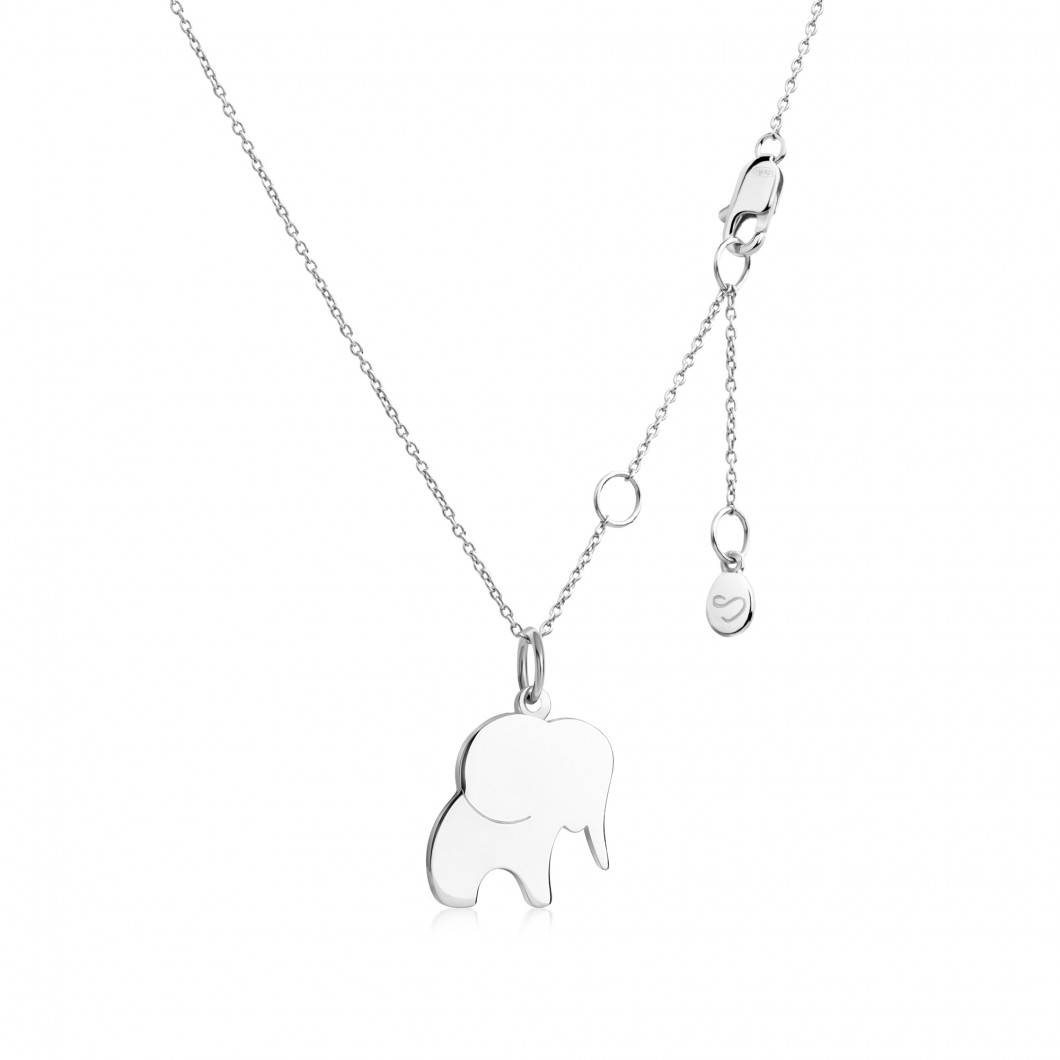 Подвеска «Слоник» серебро 925