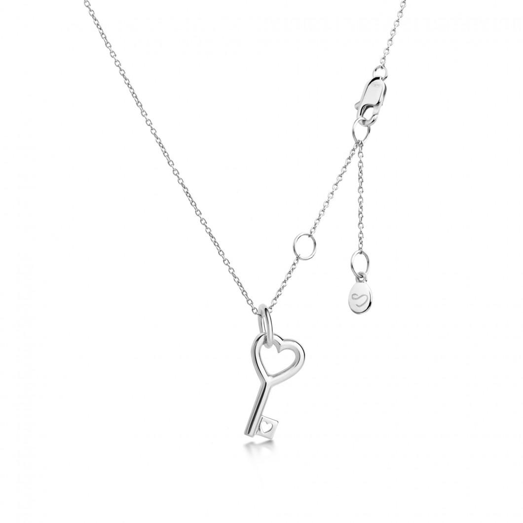 Подвеска «Ключик» серебро 925