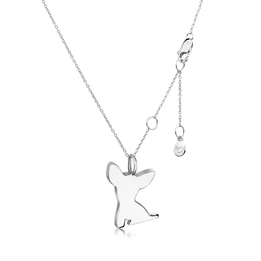 Подвеска «Собачка» серебро 925