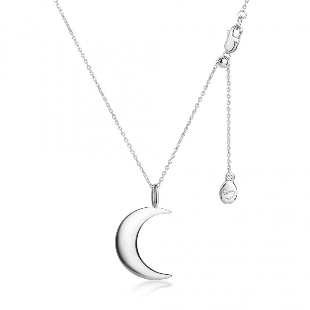 Подвеска «Месяц» серебро 925