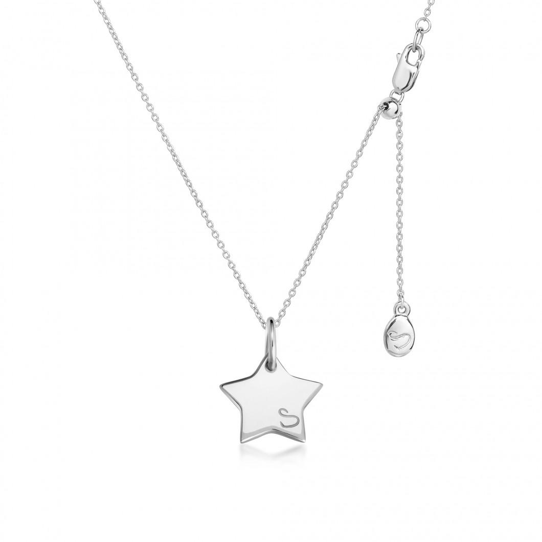 Подвеска «Звезда мини» серебро 925