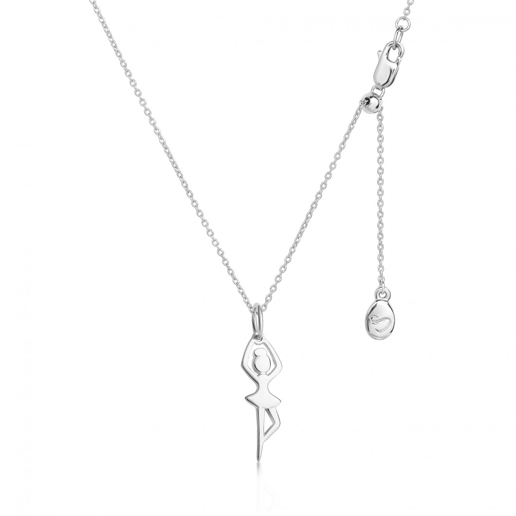 Подвеска «Танцовщица» серебро 925