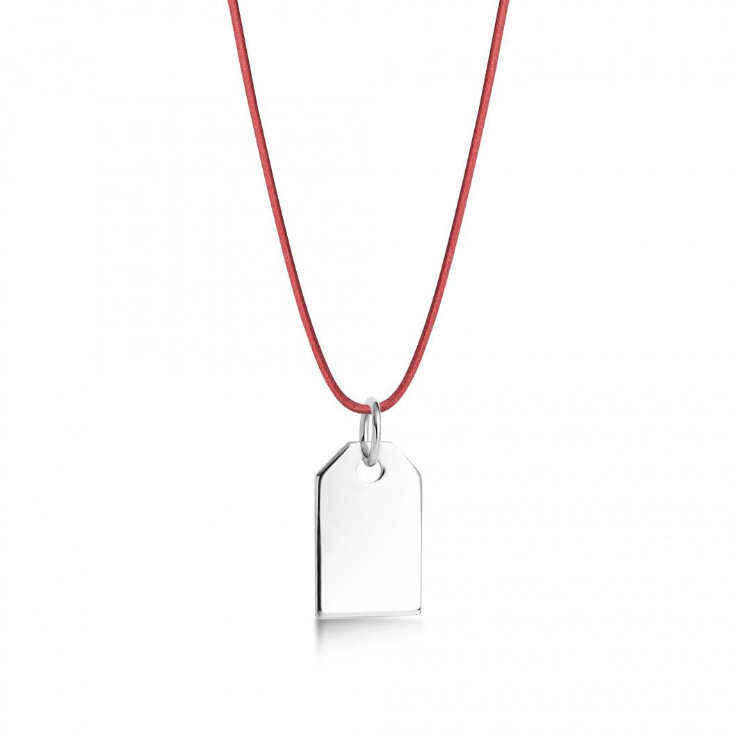 Подвеска «Жетон мини» серебро 925