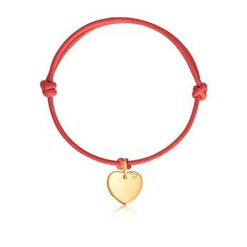 Браслет с подвеской «Сердце мини»