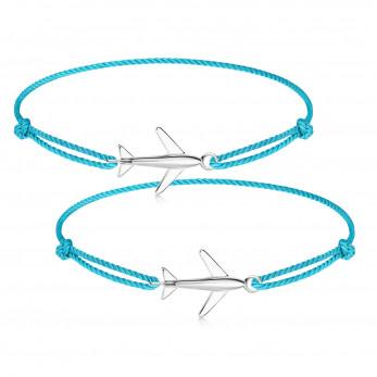 Парные браслеты «Самолетик»
