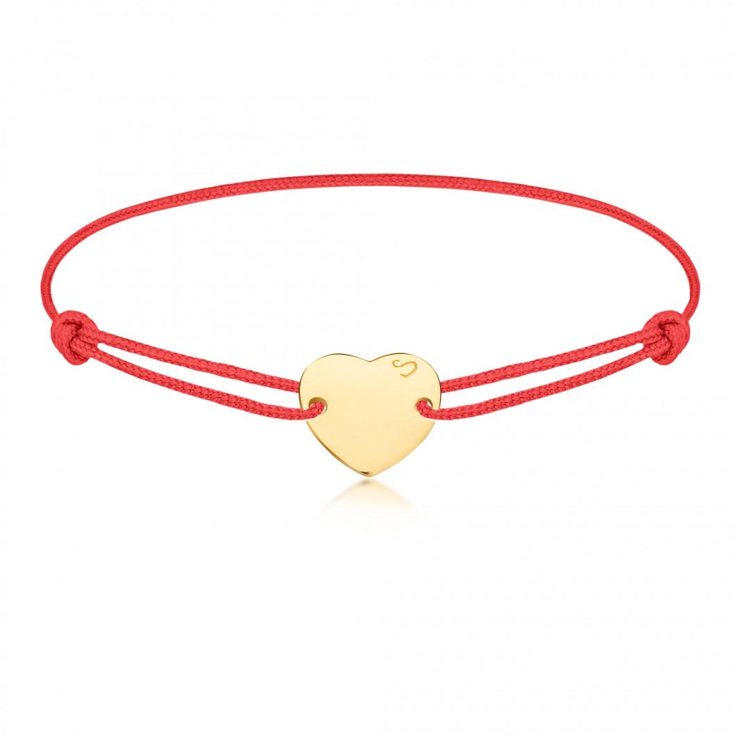 Браслет «Мини сердце» на тросике