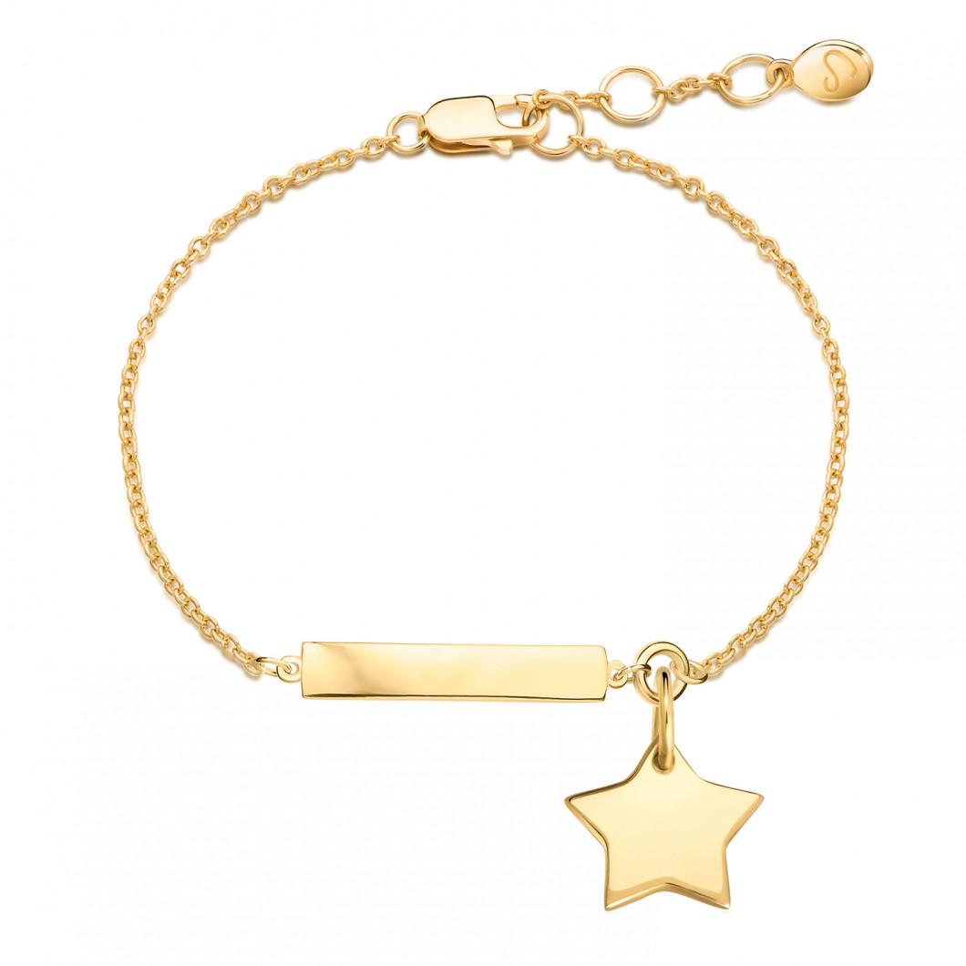 Браслет «Для важных дат» на цепочке с подвеской «Звезда»