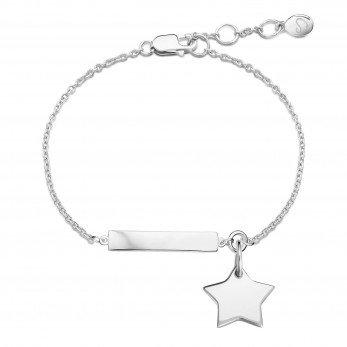 Браслет «Для важных дат» на цепочке с подвеской «Звезда мини»