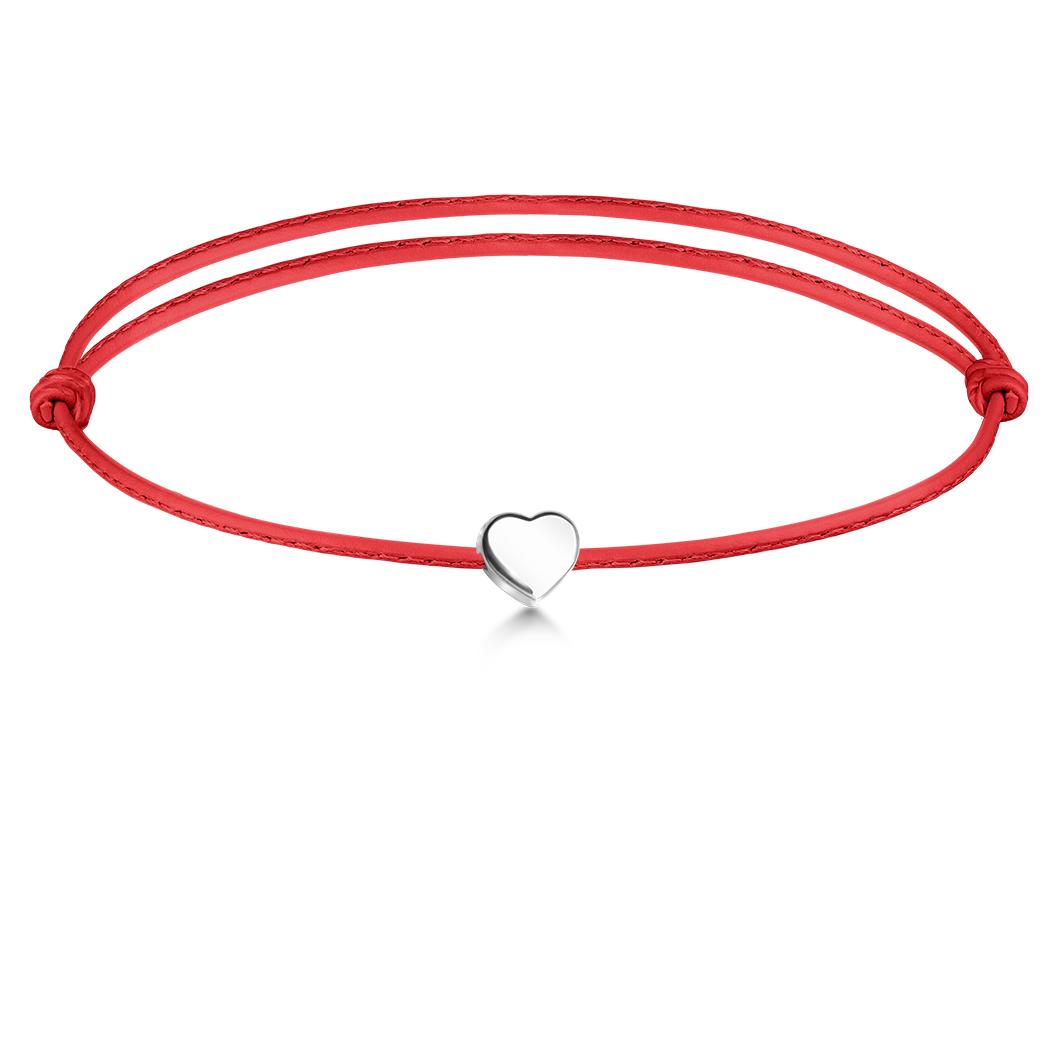 Браслет с шармиком «Сердце»