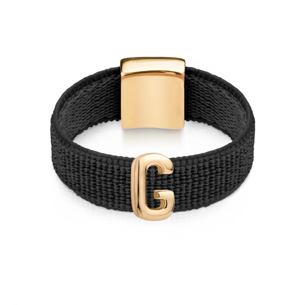 Кольцо буква «G»