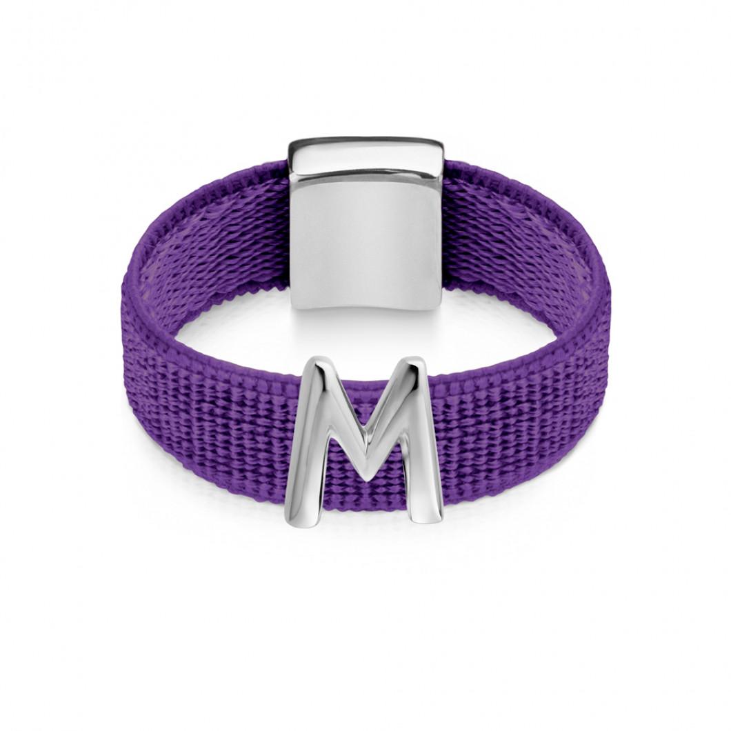 Кольцо буква «M»