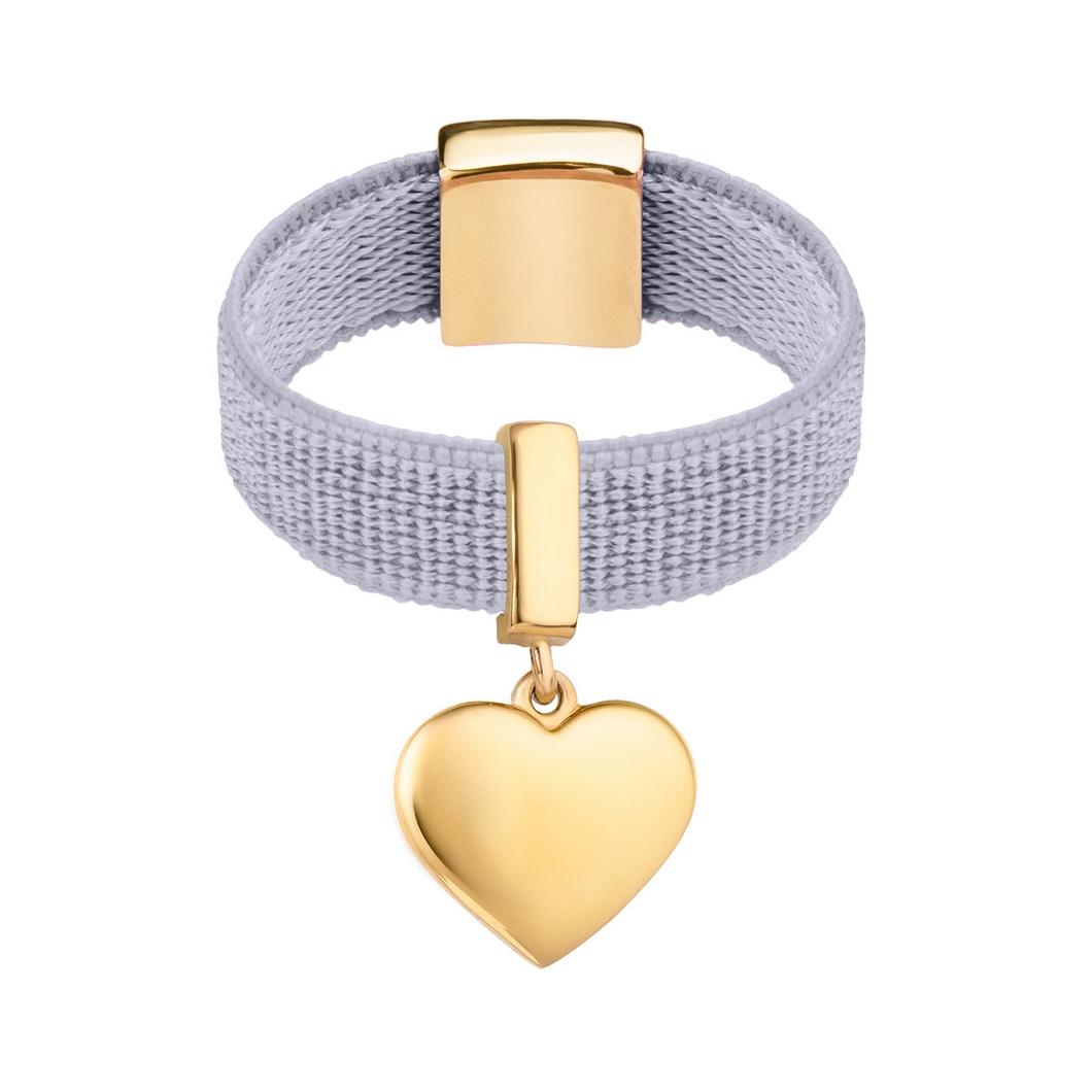 Кольцо «Подвесное сердце»