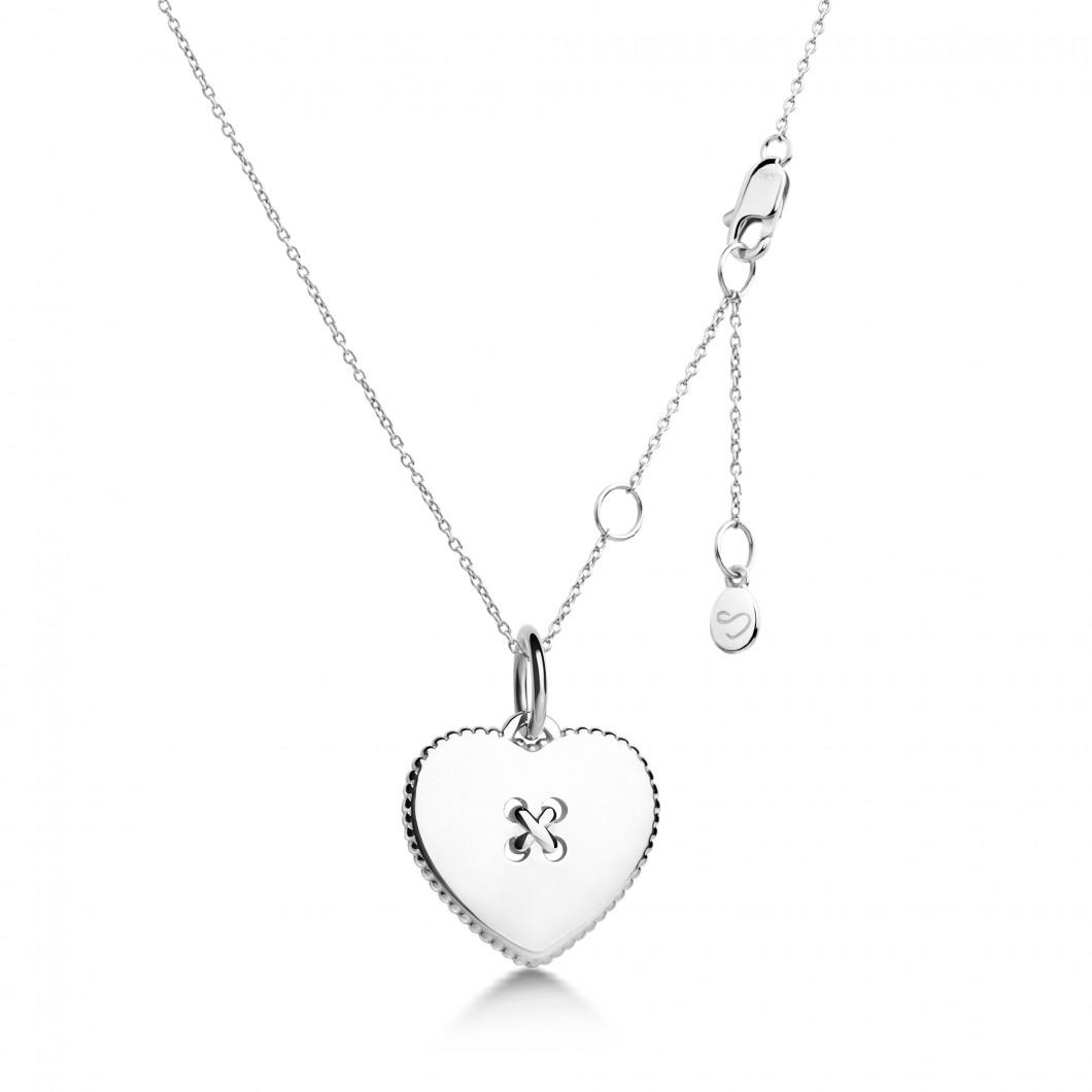 Кулон «Пуговичка» серебро 925