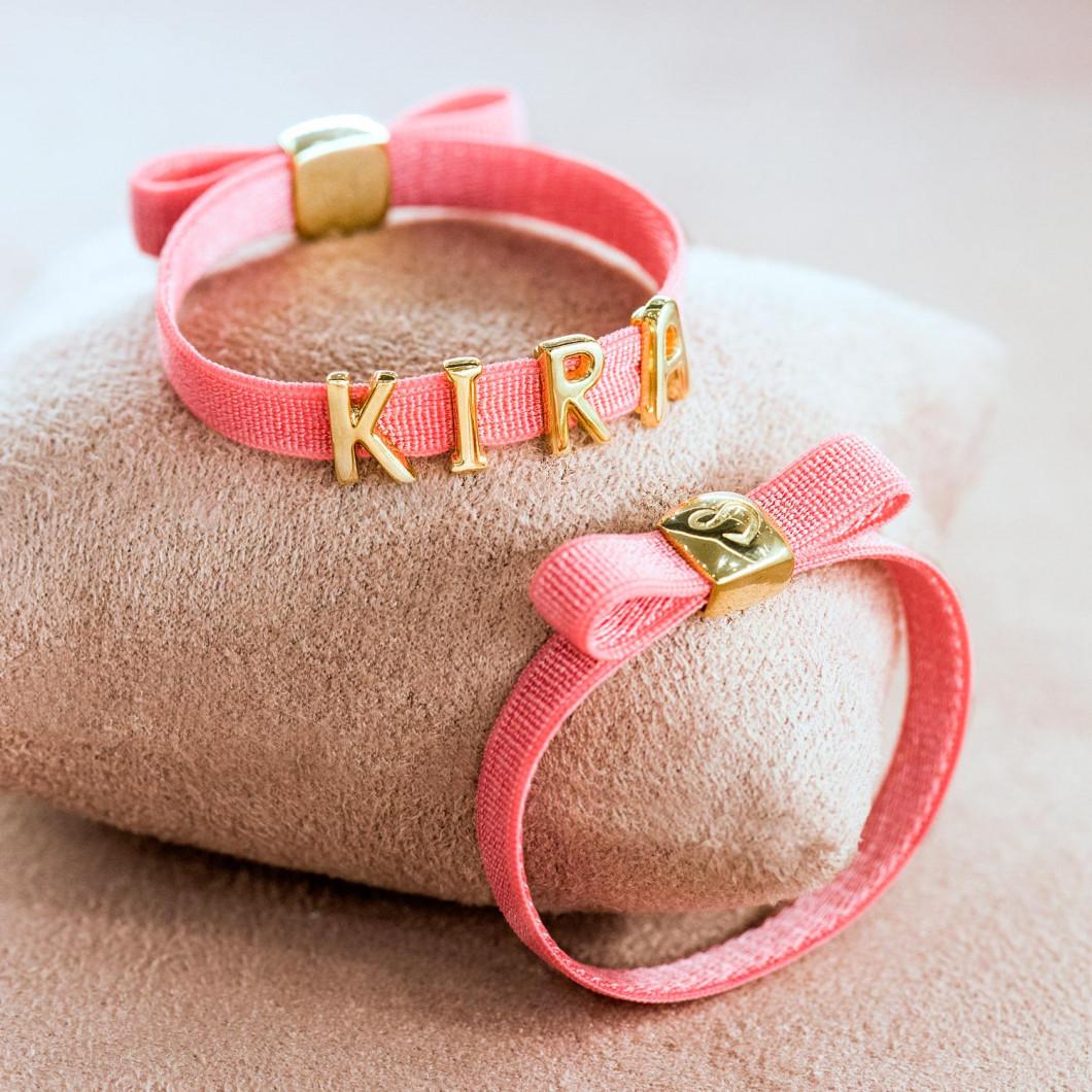 Браслет с клипсой на бантике «Kira»