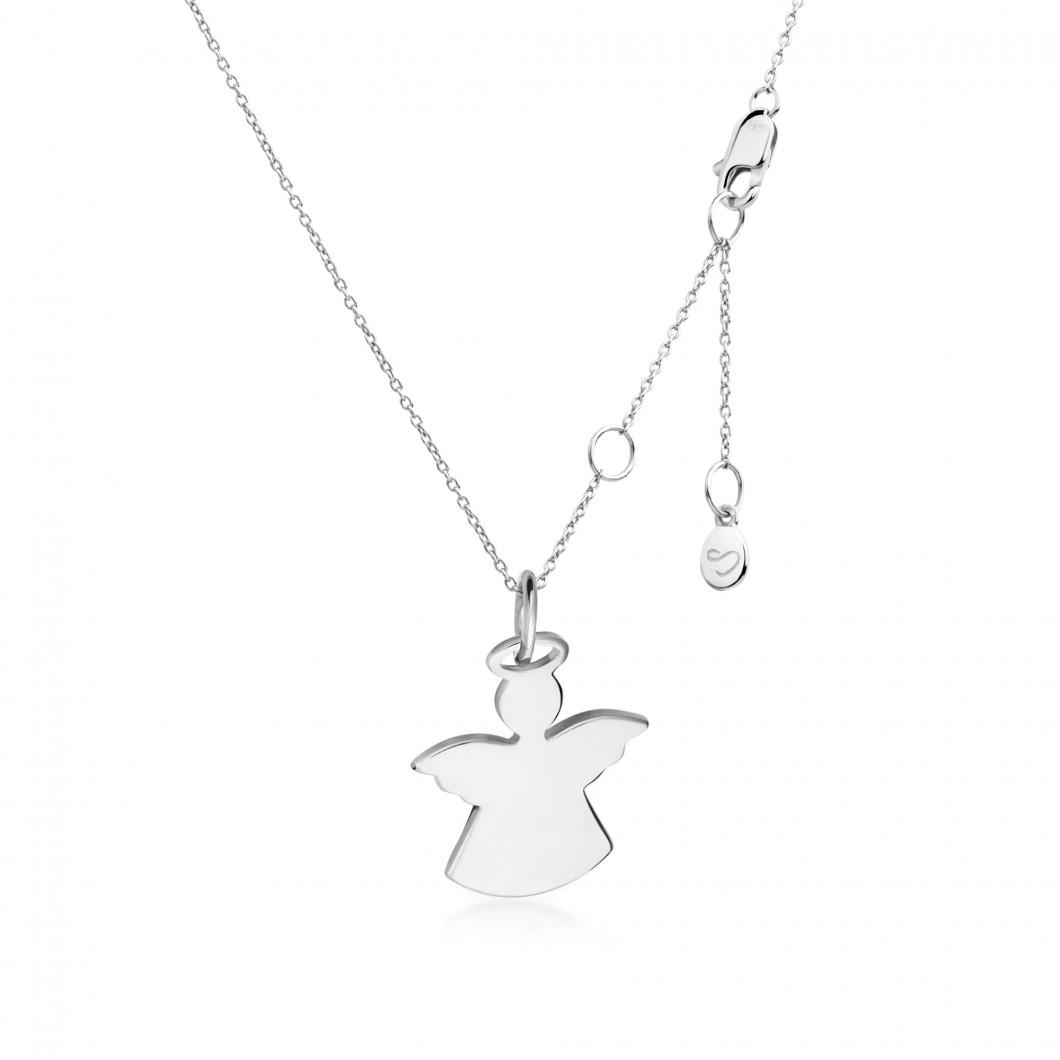 Подвеска «Ангелочек» серебро 925