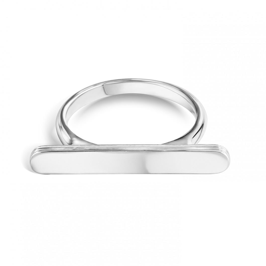 Геометрическое кольцо под гравировку
