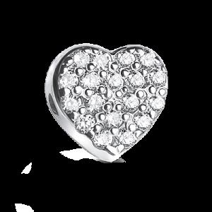 Шармик «Сердце с камушками»
