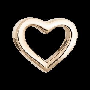Браслет с шармиком «Контурное сердце»